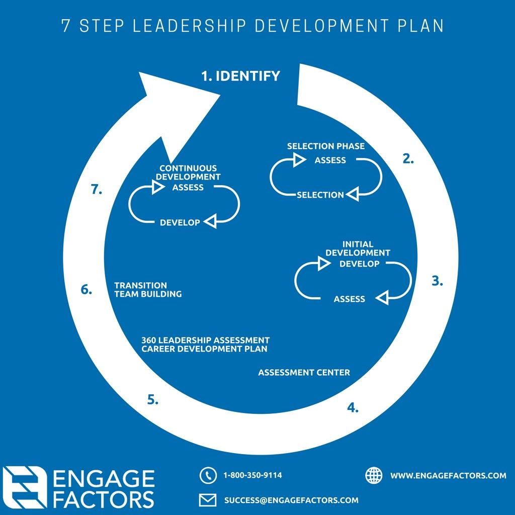 Blue 2-7 Step Leadership Development Plan